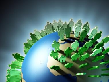 As taxas de crescimento vegetativo são responsáveis pelo número de habitantes no mundo