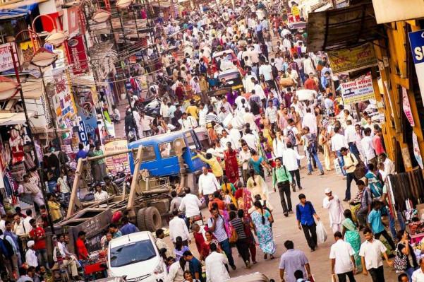 A Índia é o segundo país mais populoso do mundo, perdendo apenas para a China.*