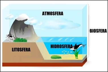 A integração da biosfera com os demais elementos do sistema terrestre