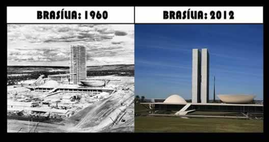 Transformação e herança da paisagem de Brasília, a capital federal